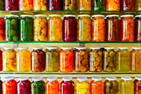 Home canned produce