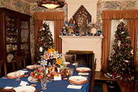 Decorated Ranch House Dining Room