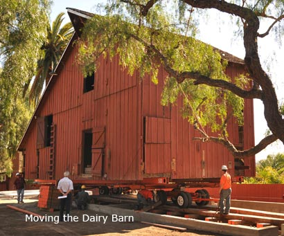 Moving the Dairy Barn